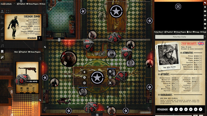 Screenshoot Foundry 2 - Grimório do mestre