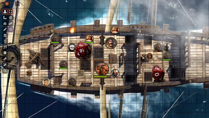 Screenshoot Foundry 1 - Grimório do mestre